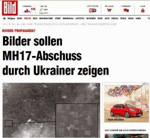 Das MH17 Satellitenbild ist ein Fake